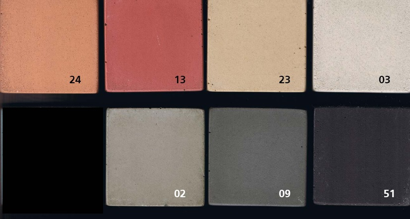 concrete color sheet
